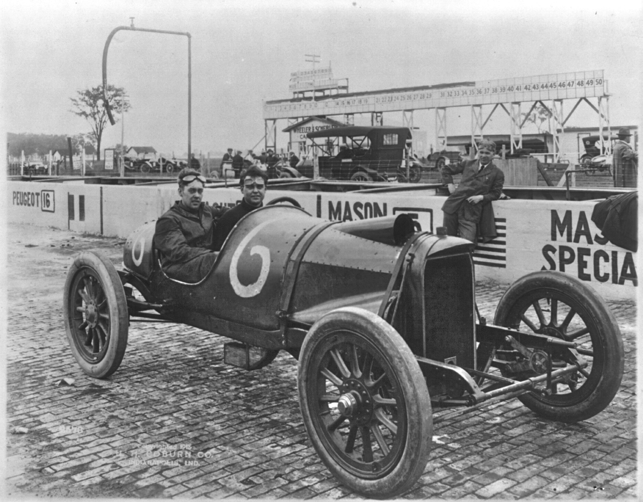 A Mason Racing Car | The Old Motor