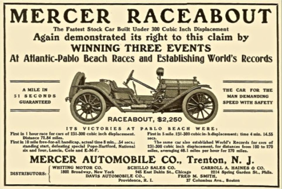 the t head mercer was one of the most famous early american automobiles for good reason it was brilliantly designed by findley robertson porter and grew