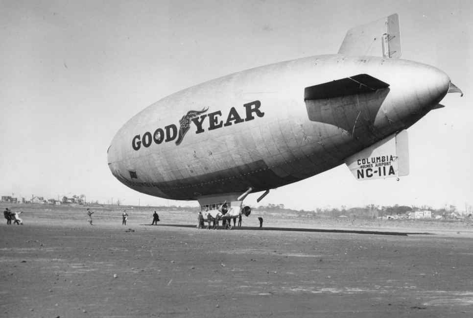 Goodyear Blimp The Old Motor