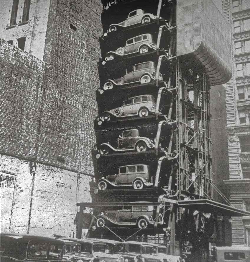 Luxury Car Parking Nyc: Vertical Parking Lots…..