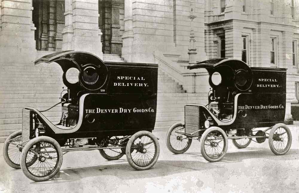 Steam Powered Delivery | The Old Motor