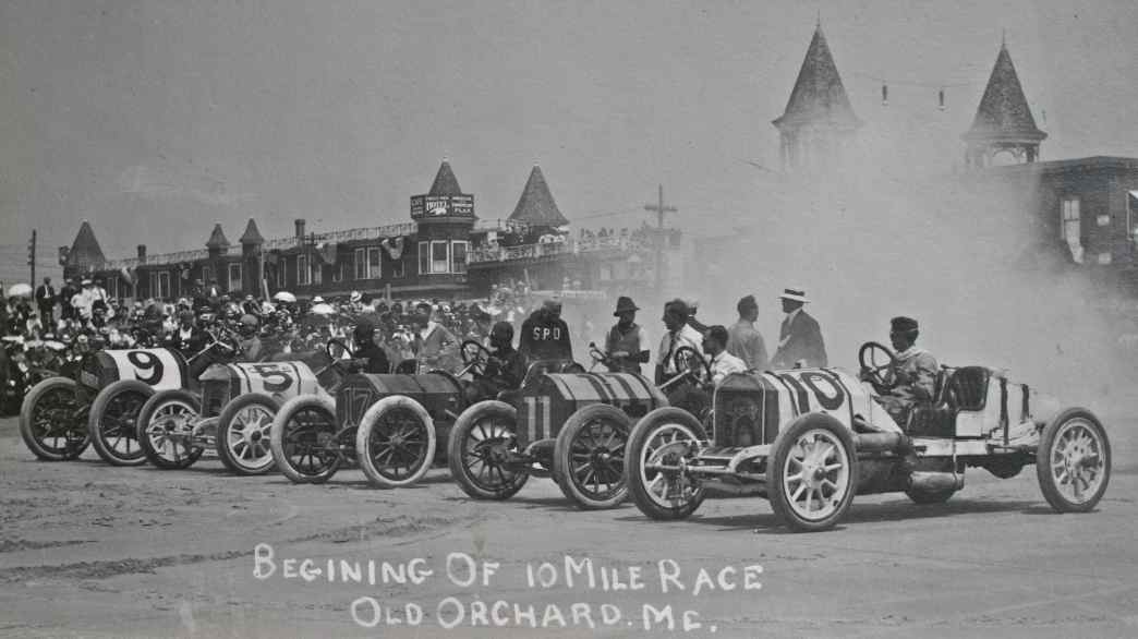Old Orchard Beach Races 1912 | The Old Motor