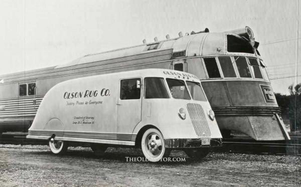 Car Dealerships In Denver Co >> Olson Rug Co Streamliner Truck   The Old Motor