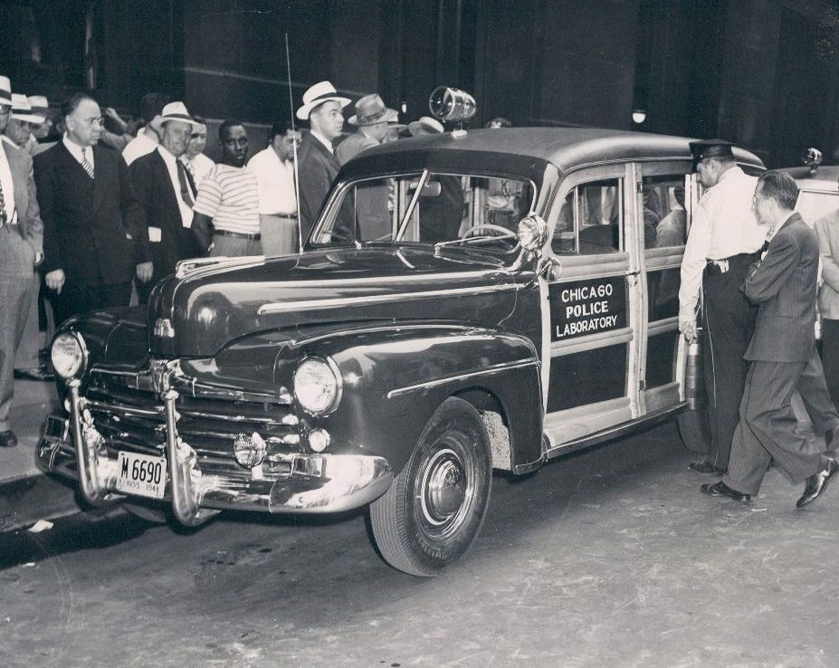Chicago police the old motor for Department of motor vehicles chicago