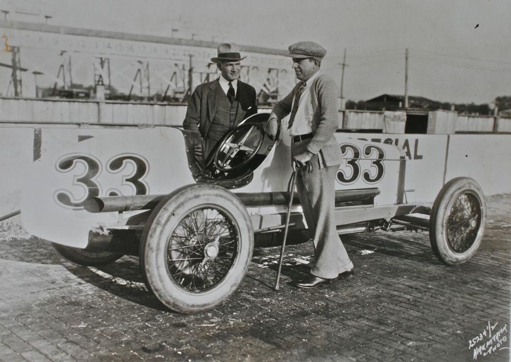 Ralph DePalma And Harry Hartz