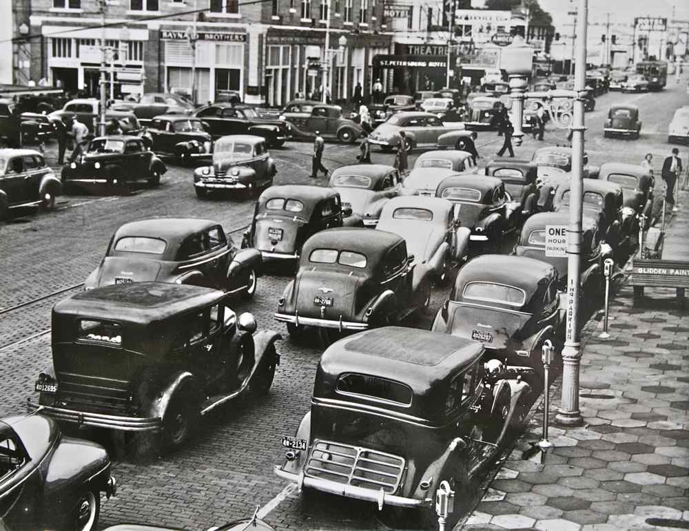 St Petersburg Florida 1946 The Old Motor