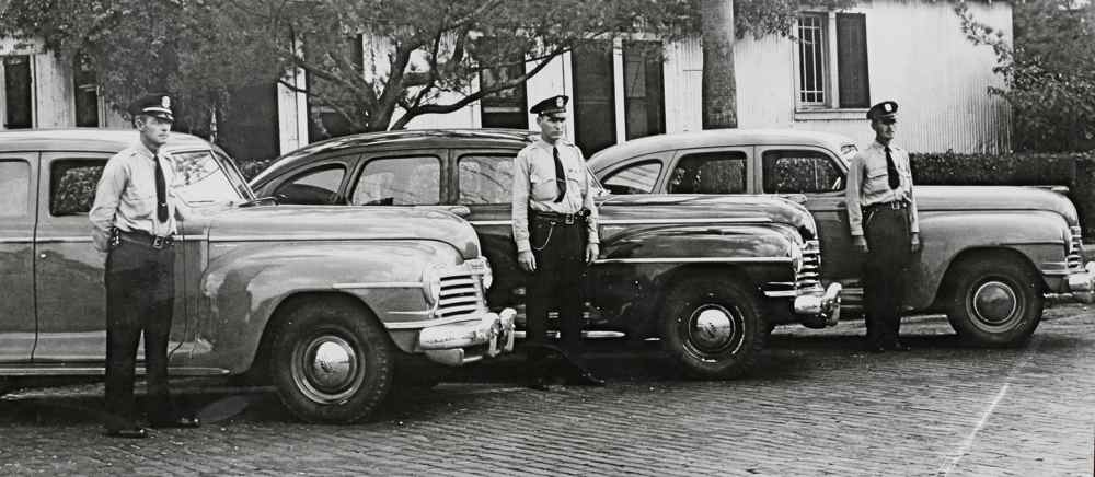 New St Peterburg Florida Patrol Cars 1944 The Old Motor