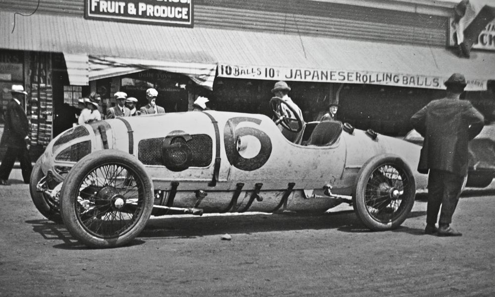 A Case at the Old Orchard Beach Race in 1912 | The Old Motor