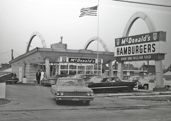 The Golden Arches And 60s Cruising The Old Motor