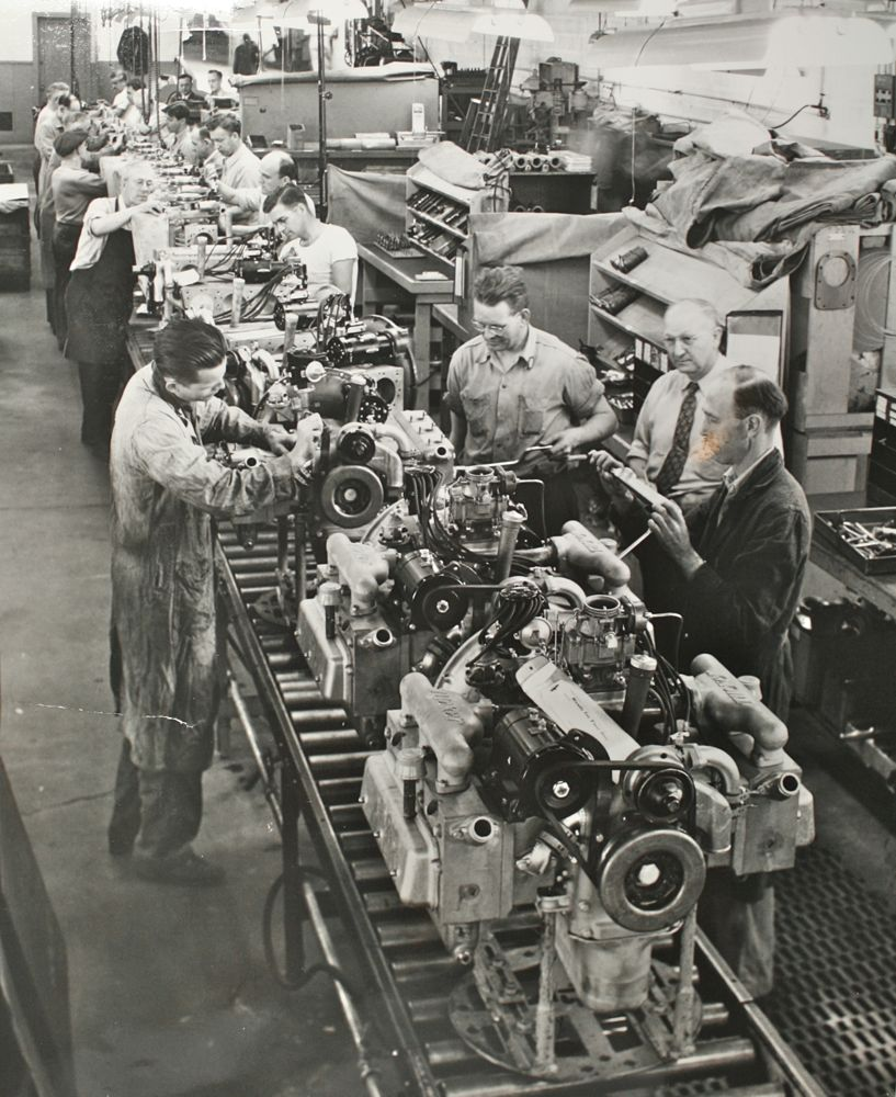 assembly line | Search Results | The Old Motor