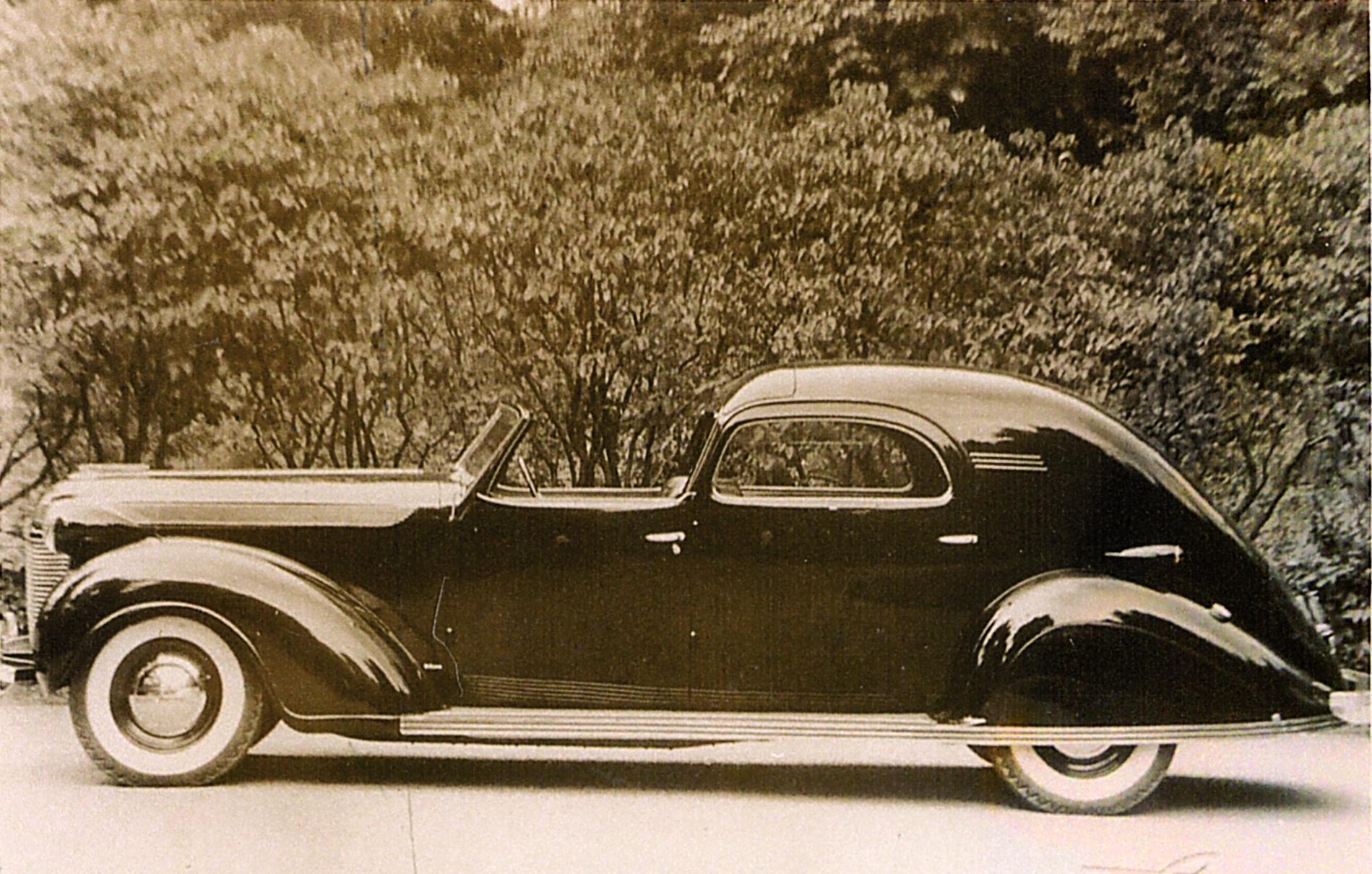 1937-Chrysler-Imperial-Model-C-15-Town-Car | The Old Motor