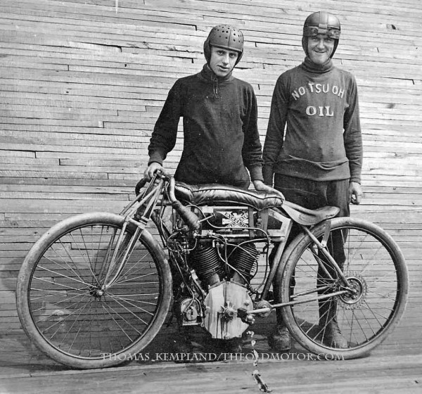 Motorcycle Board Track Racing The Old Motor
