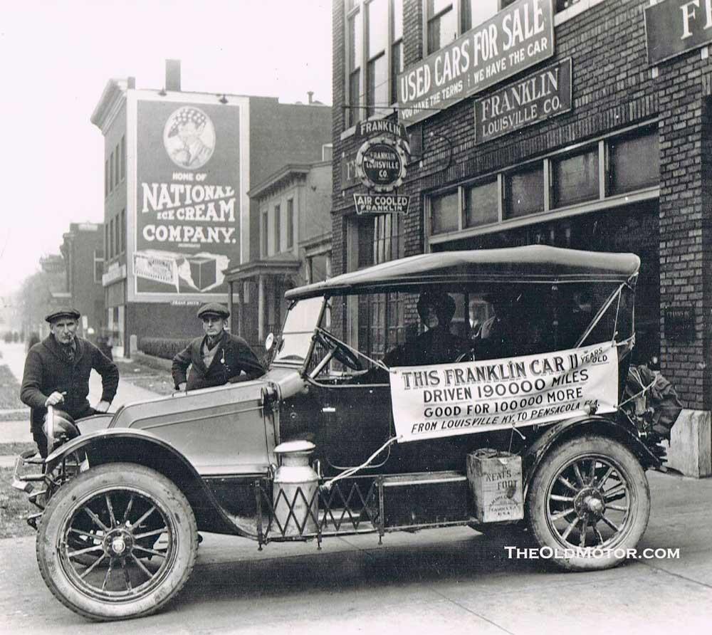 1913 franklin the old motor. Black Bedroom Furniture Sets. Home Design Ideas
