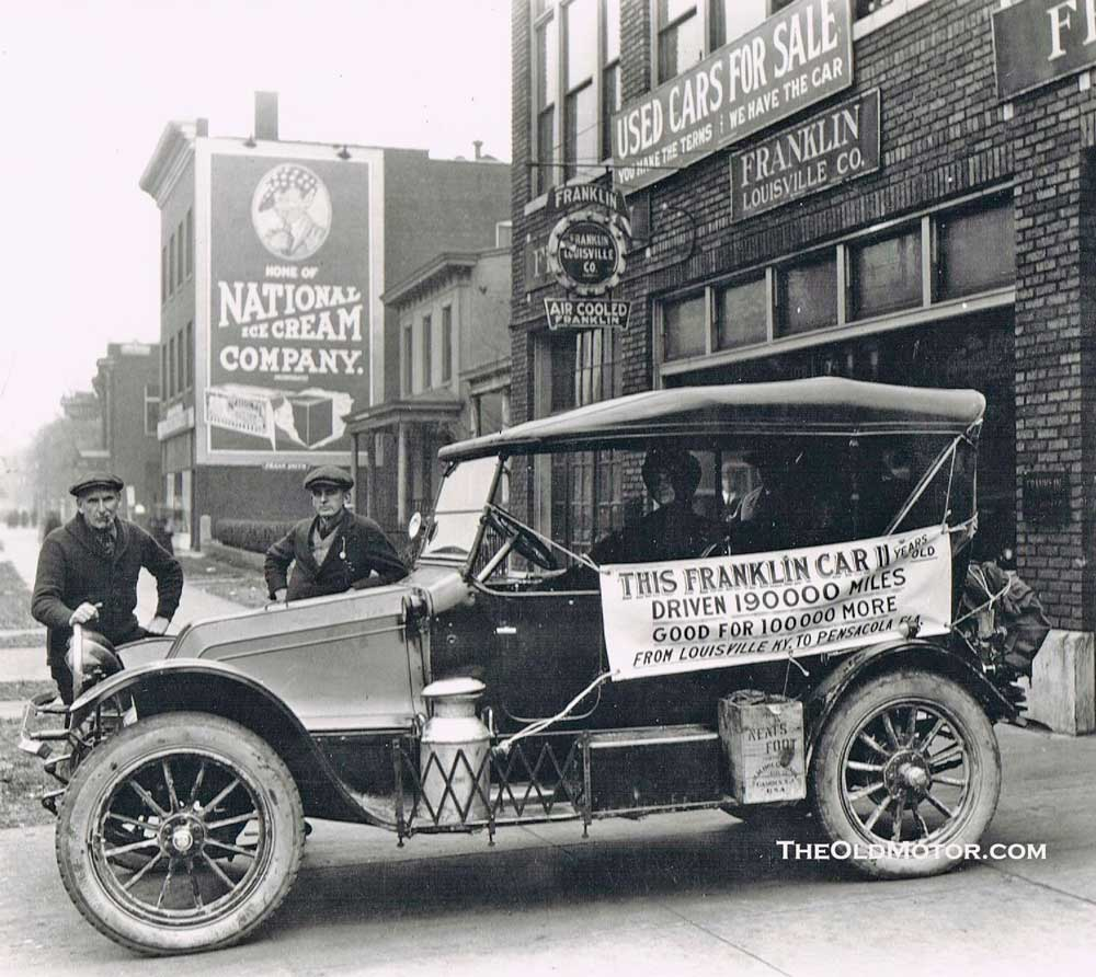 1913 franklin the old motor for Garage ford paris 13