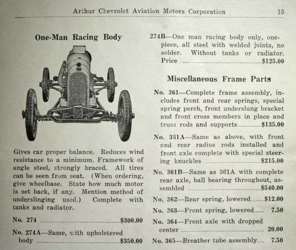 The Frontenac Ford Catalog Part III – The Parts to Assemble Your Own ...