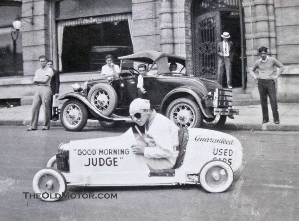 *Update* It turns out that the car was owned by Judge's Ford in Rochester, NY. Thanks to Seldenguy from Leicester, NY. who has followed up with even more ...