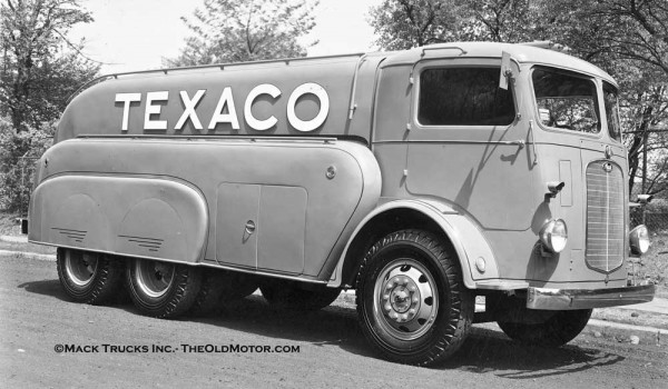 A 1936 Mack Cj Traffic Type Tanker The Old Motor
