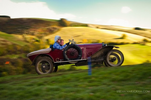 The Vintage SportsCar Club – Fall Welsh Trial 2012  The Old Motor