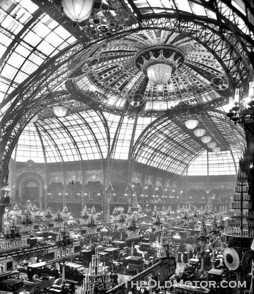 americans in paris the 1912 salon de l auto at the grand palais the old motor. Black Bedroom Furniture Sets. Home Design Ideas