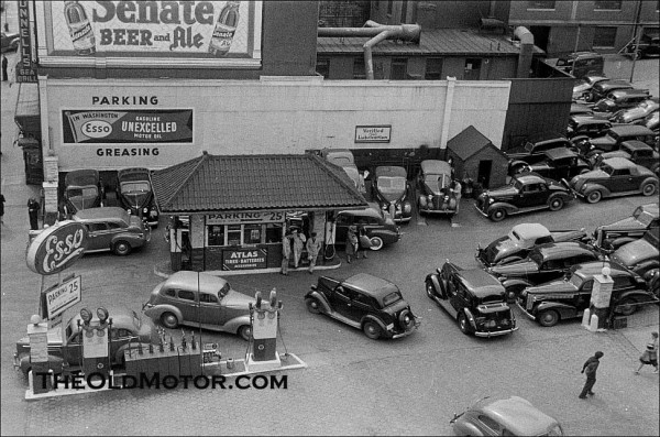An Esso Gas Station In Pre War Washington D C The Old