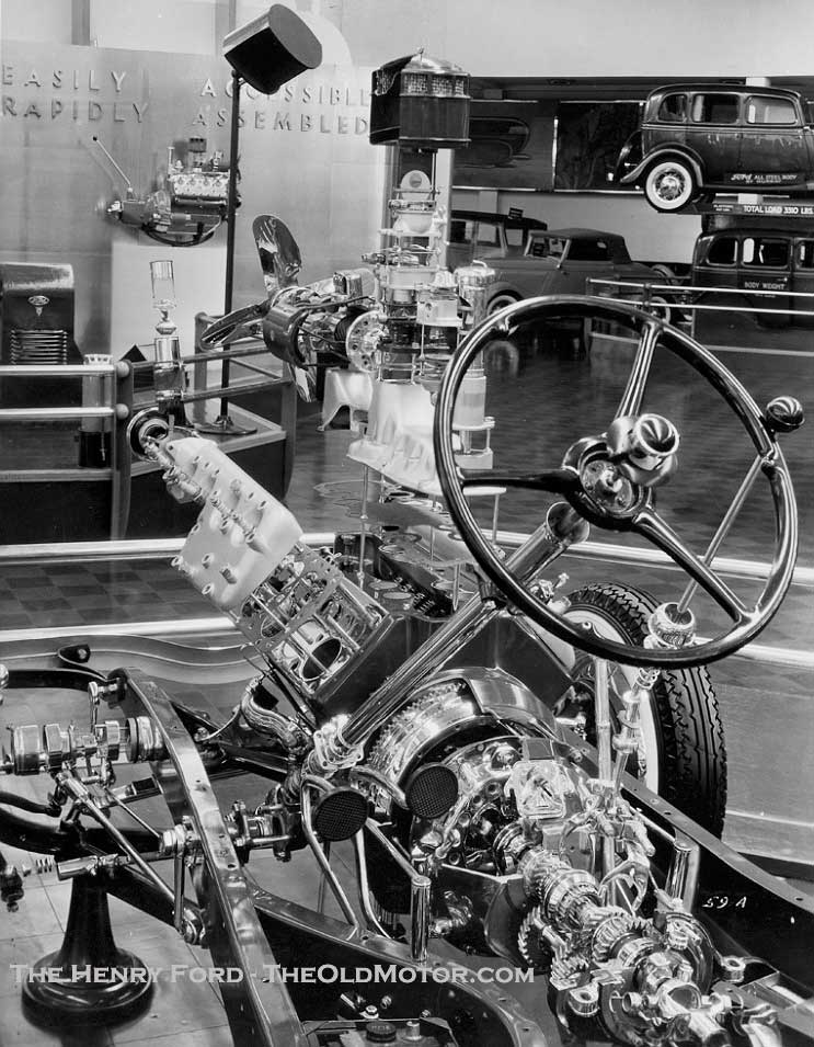 The Ford Display At The Chicago 1933 34 Century Of