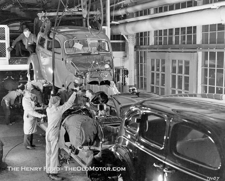 Ford Motor Company Dearborn Michigan 1949 Final Assembly