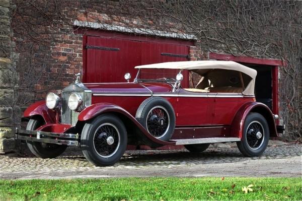 A Very Fine 1929 RollsRoyce Phantom I Ascot Tourer  The Old Motor