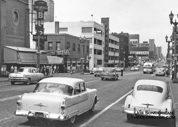 The Streets Of St Louis Missouri In The 1950s The Old