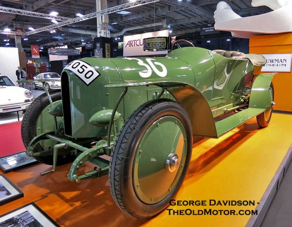 Early Benz Racing Cars At Retromobile Green And White With Envy