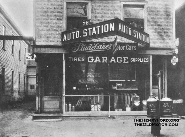 The Auto Station Huntington Long Island A Studebaker