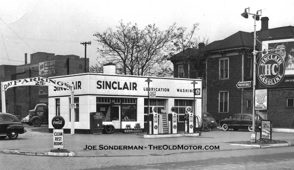 Joe Paul S Sinclair Gas Station Springfield Illinois The