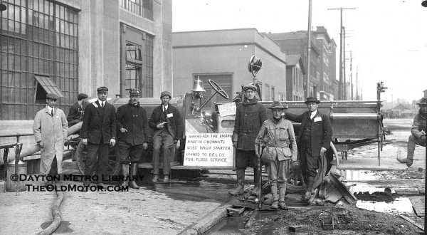 The 1913 Dayton Ohio Flood And Clean Up At The Delco