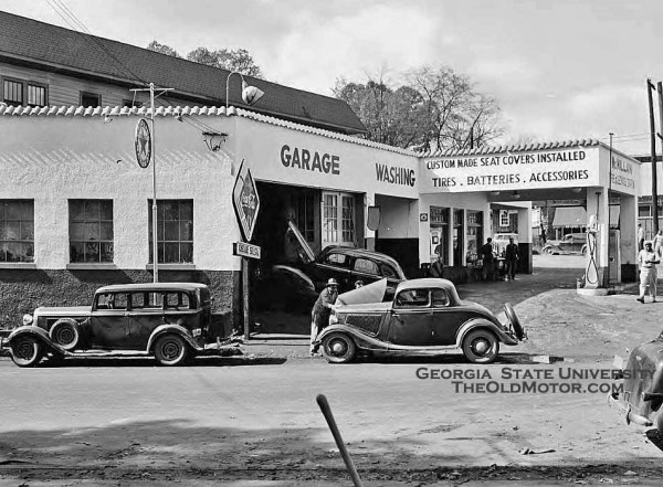 The Mcmillan Tire And Automobile Service Station Part I