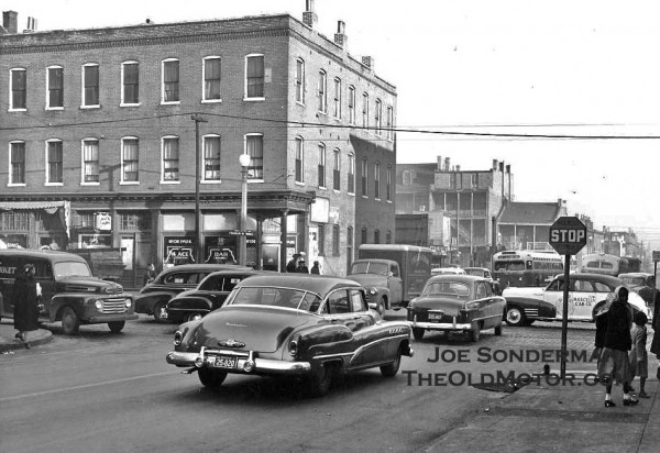 Seen on the streets of st louis 1951 the old motor for Garage ford saint louis