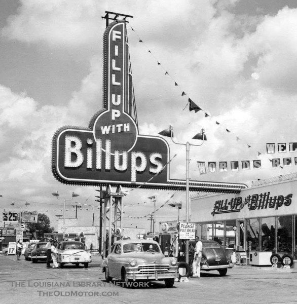 """Used Car Dealer Near Me >> """"The World's Best Service Station"""" – Fill Up with Billups ..."""
