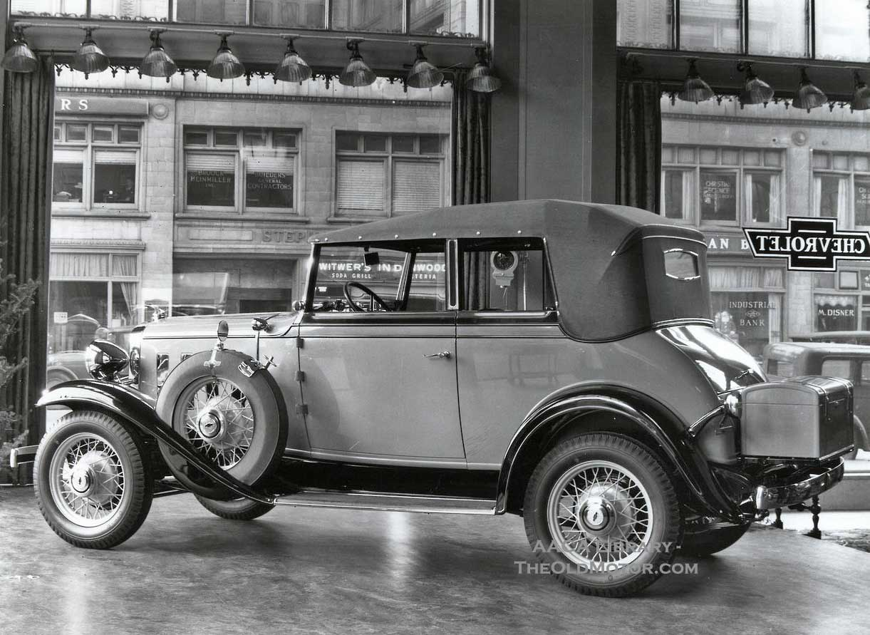 "Chevrolet – ""The Great American Value for 1932"" 