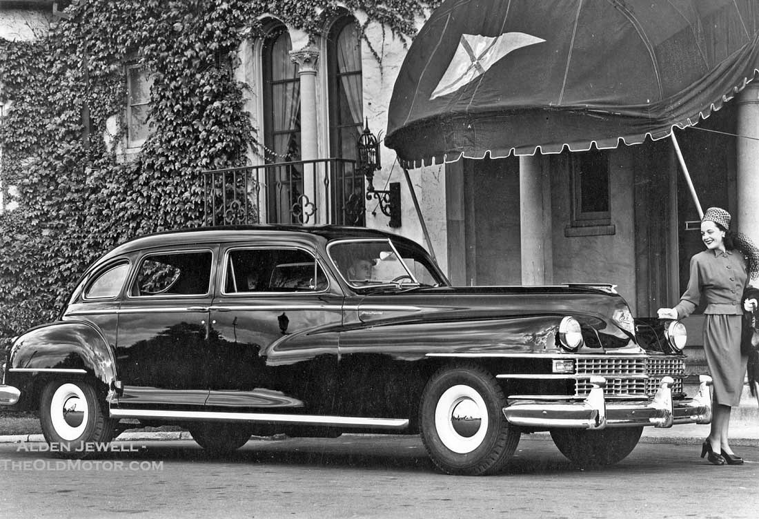 Chrysler Imperial Limousines Of The 1940s Luxury Rarely Seen 1950s Cars Ald2 Impin Ald3