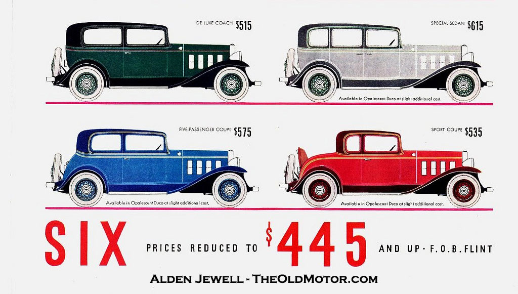 Chevrolet The Great American Value For 1932 The Old Motor