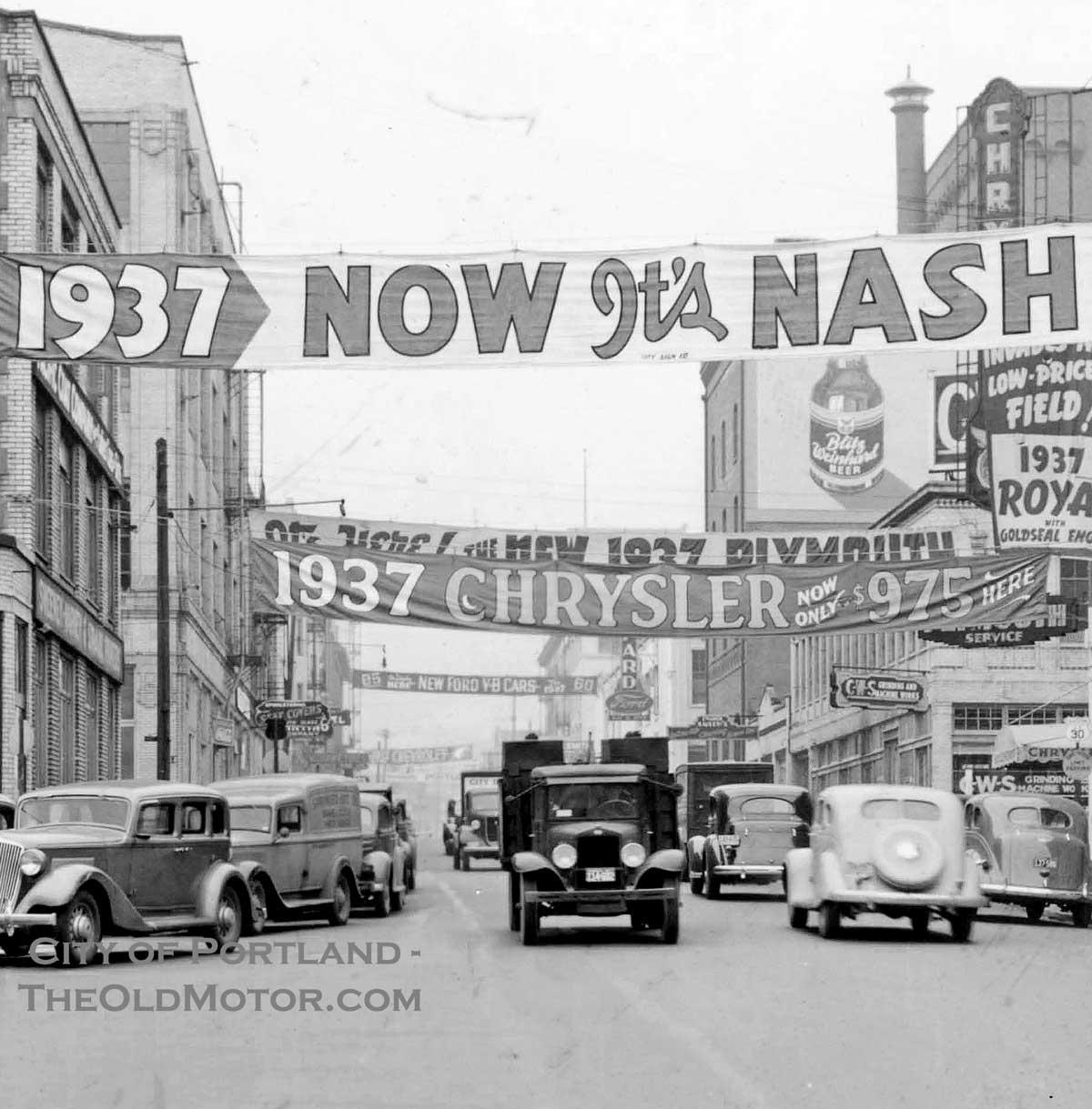 Gasoline Alley, Portland, Oregon, C.1937