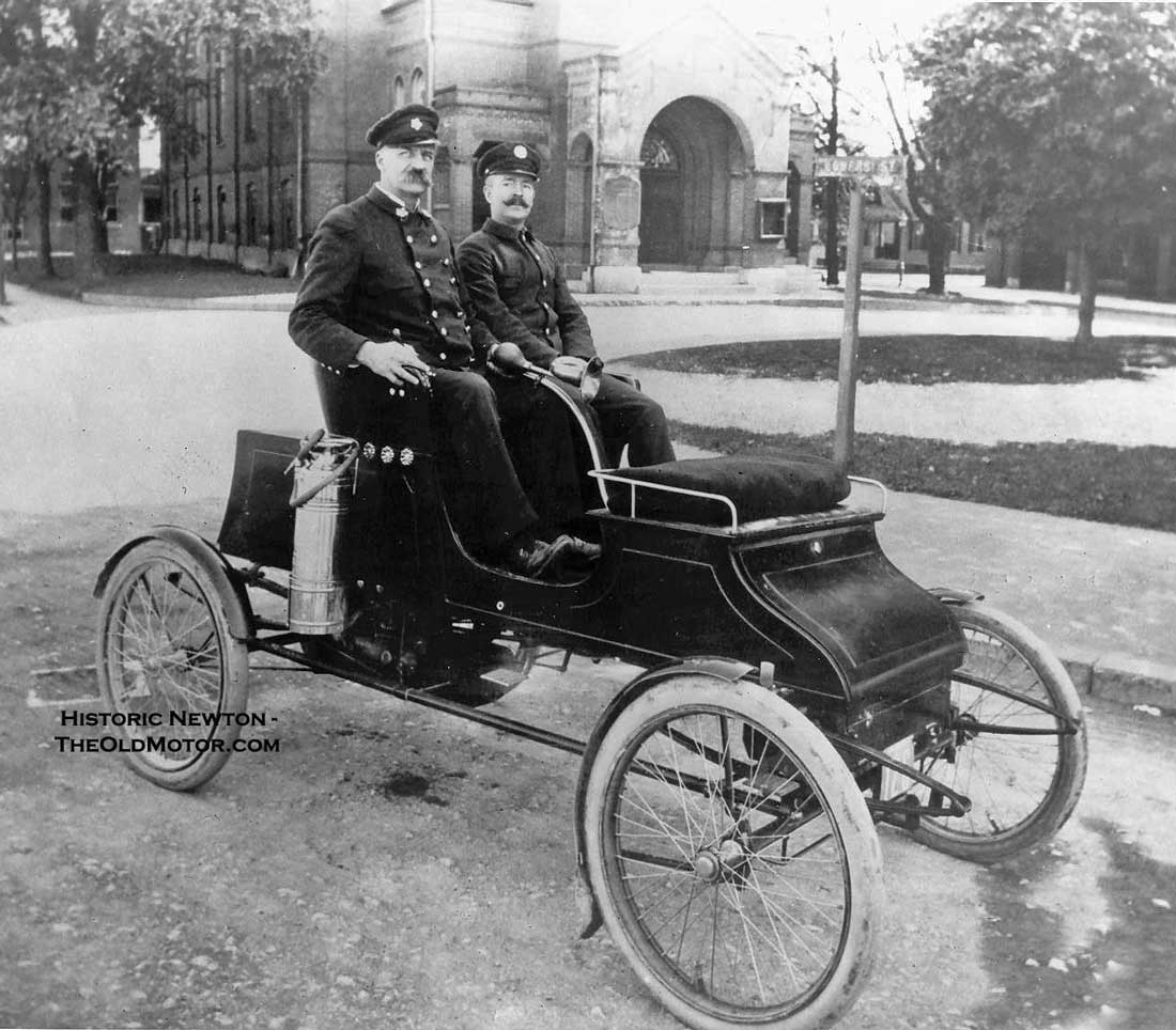 Stanley Steamer Car >> A Stanley Steam Car In Fire Department Service Newton