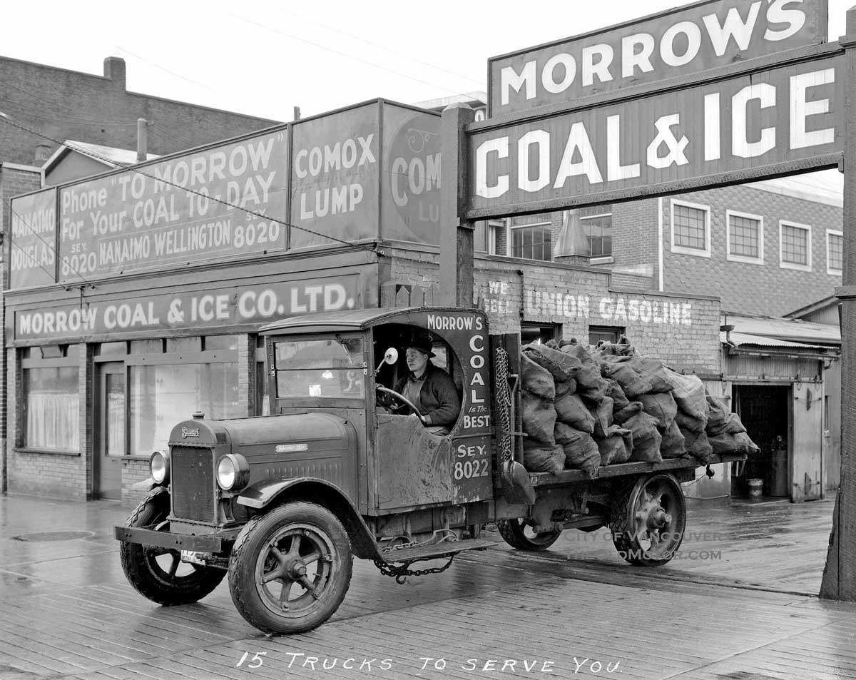 A Stewart Truck Answers The Call For Morrow Coal Amp Ice
