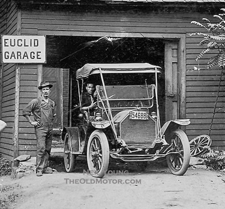Euclid3 the old motor for Garage fiat paris 17