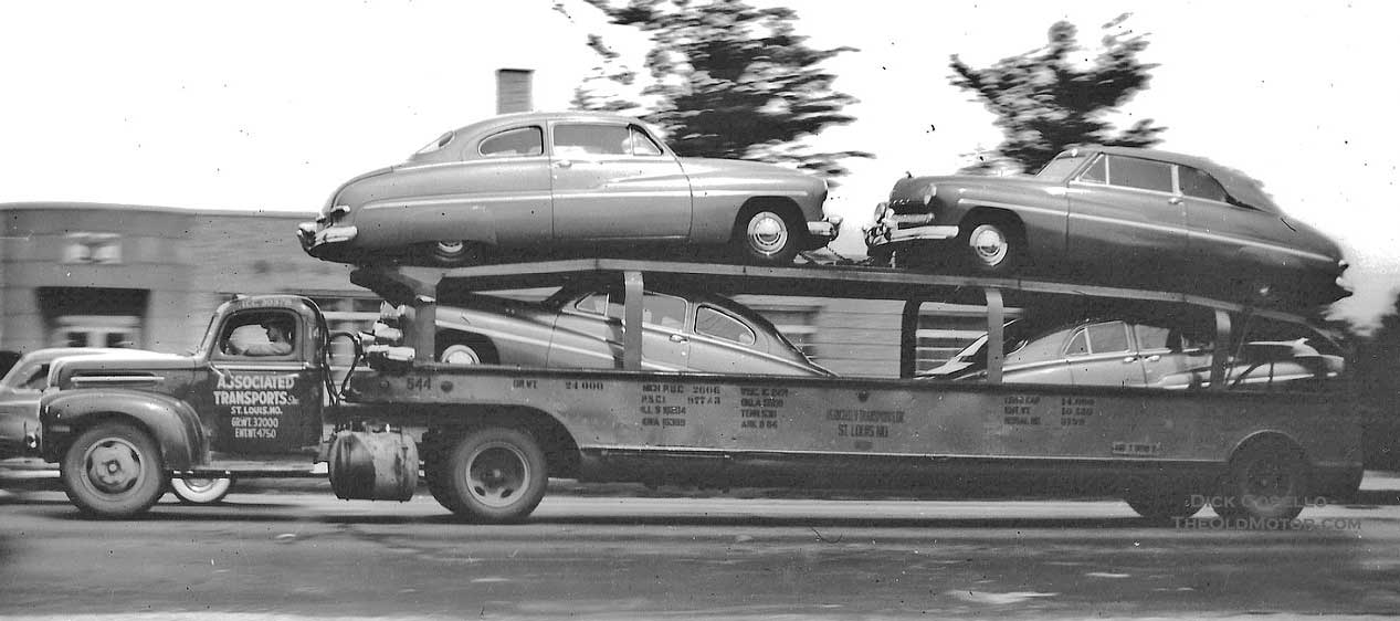 Moving The Metal Thirty Great 1940 1957 Photos Showing