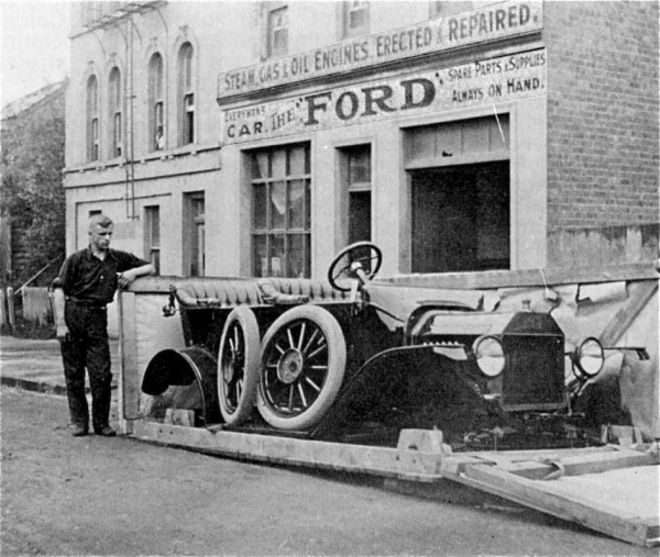 """Some Assembly Required – A Model """"T"""" Ford as Delivered in ..."""