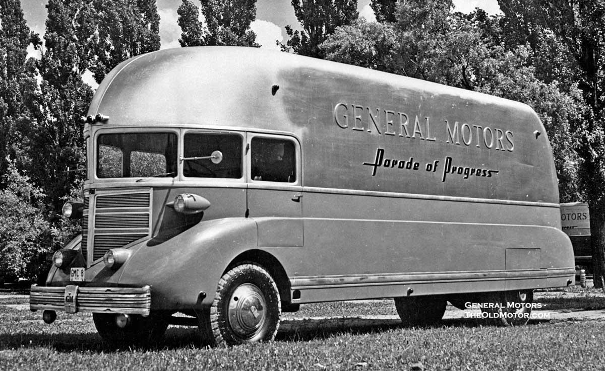 1936 general motors caravan of progress the first for History of general motors