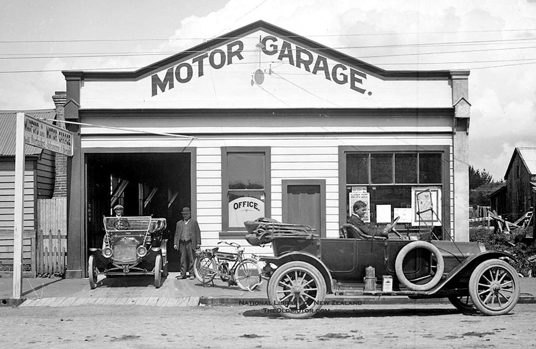 Mudford1 the old motor for Garage fiat paris 17