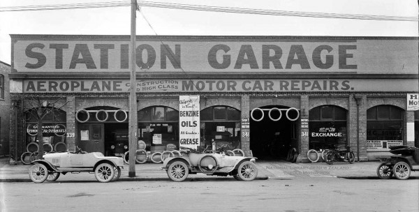 The Station Garage Christchurch New Zealand The Old Motor