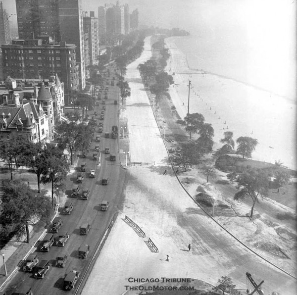 Lake Shore Drive Chicago S Gold Coast Highway The Old