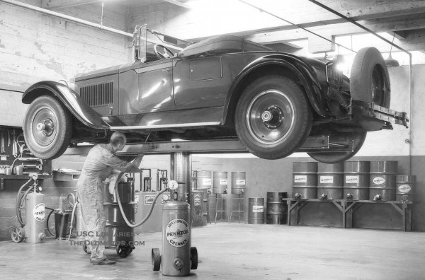 Pennzoil Lubrication Time At The Biltmore Garage The Old