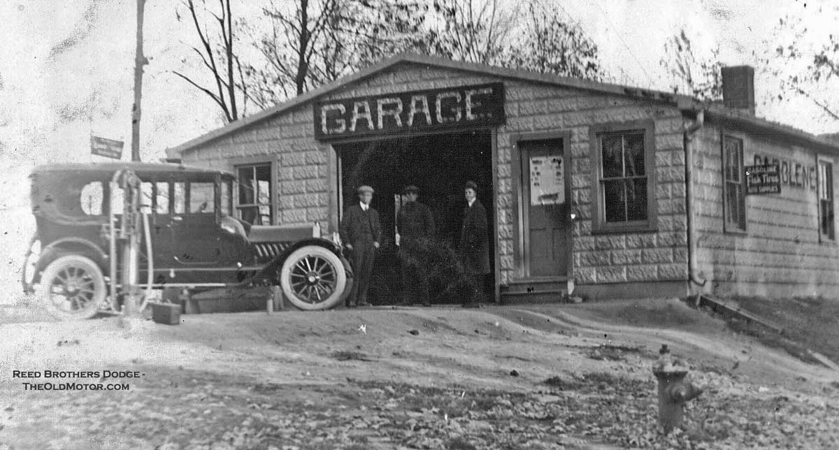Reed brothers dodge selling the brand for ninety four years for Garage ford vernon 27200